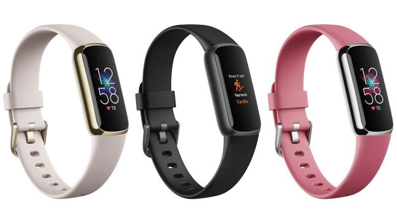 Fitbit Luxe kolmessa eri värissä. Kuva: WinFuture.de.