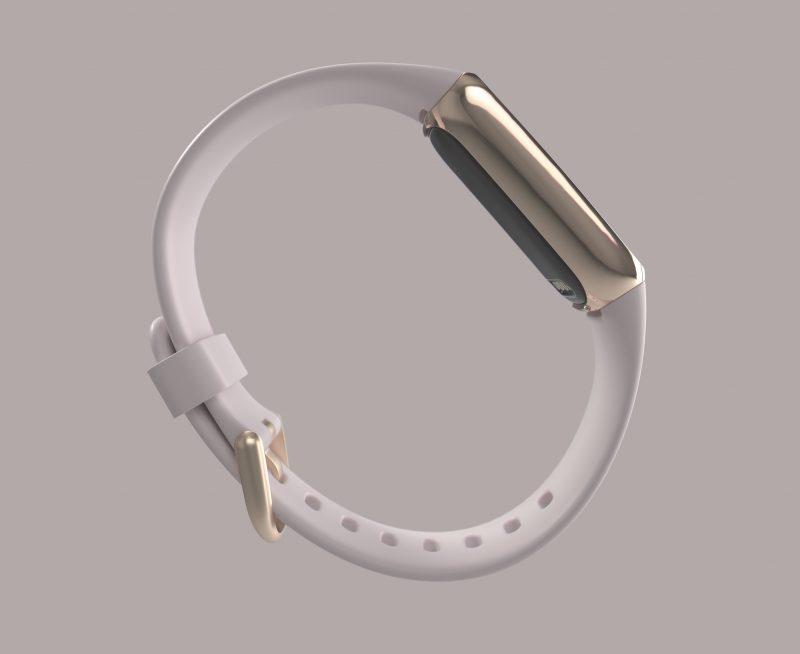 Fitbit Luxen sivuprofiili.