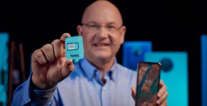 HMD Globalin toimitusjohtaja Florian Seiche esitteli HMD Mobile -palvelun.