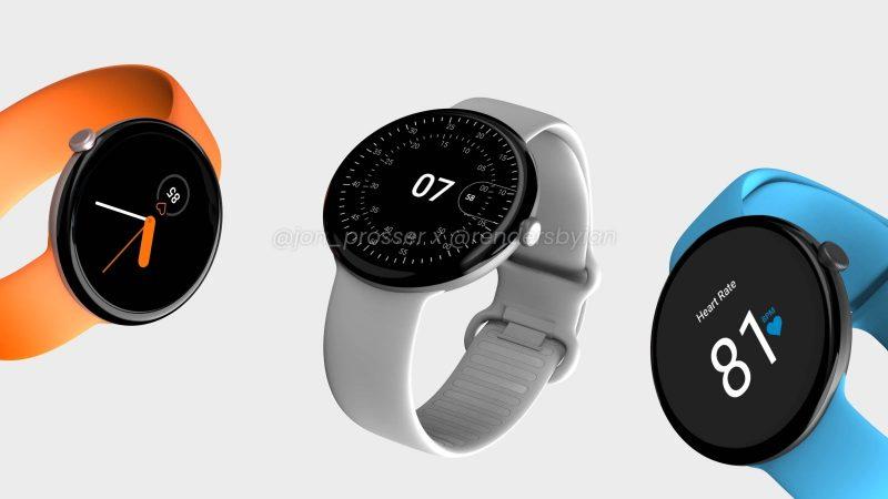 Googlen älykello, mahdollisesti Pixel Watch, näyttää tältä tubettaja Jon Prosserin mukaan.