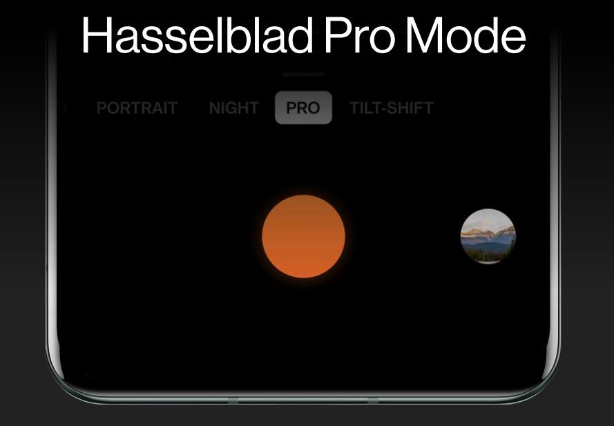 Hasselblad Pro -kuvaustila tarjoaa käyttöön laajat manuaalisäädöt - ja mahdollistaa myös 12-bittisen RAW-kuvauksen.