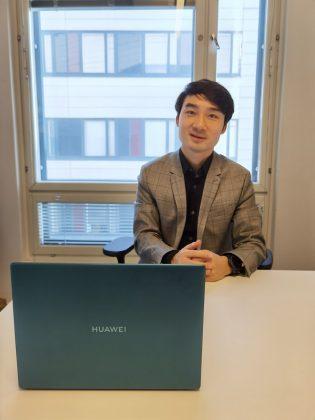 Huawei Suomen maajohtaja Ivan Lv.