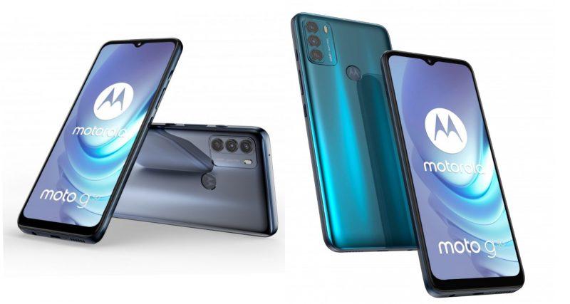 Motorola Moto G50:n värivaihtoehdot.