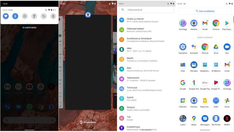 Nokia X20:ssä on puhdas Android 11 -ohjelmisto mainiolla päivitystuella.