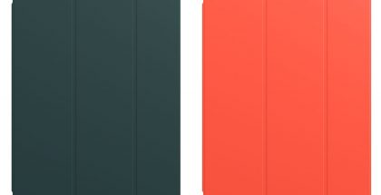 iPad-suojakuorten uudet värit ovat kuusenvihreä ja loimuoranssi.