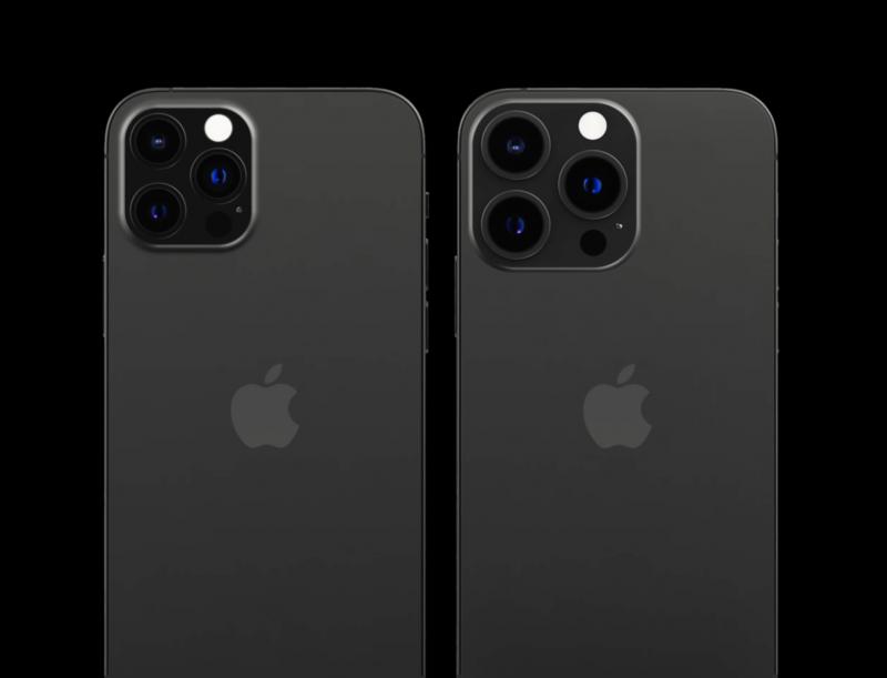 iPhone 13 Prossa takakamera-alue voi olla suurempi kuin iPhone 12 Prossa.