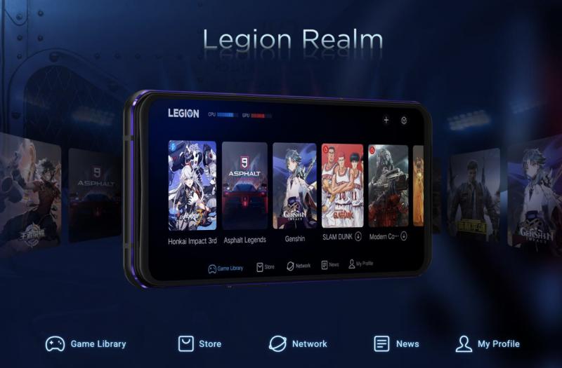 Legion Realm on pelaamisen keskus.