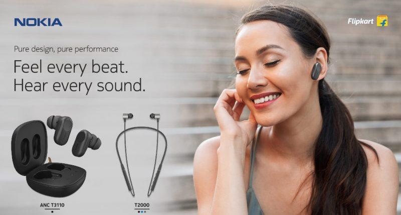 Intian markkinoille Flipkartin kautta tulevat kahdet uudet Nokia-kuulokkeet.