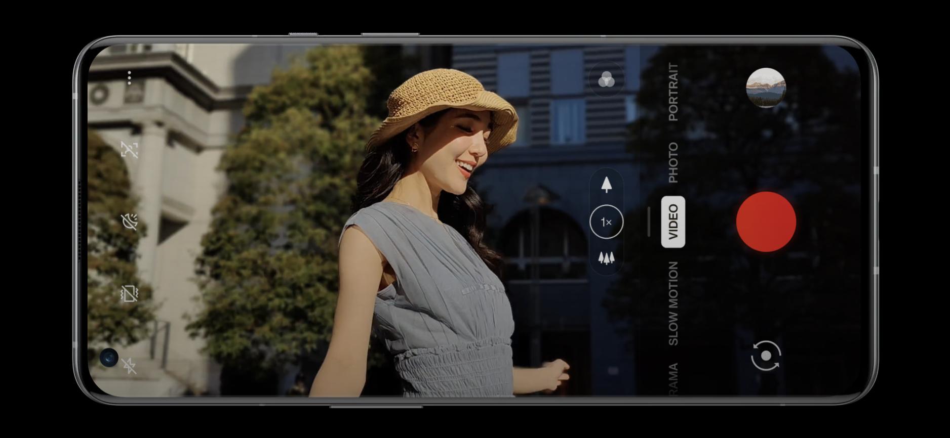 OnePlus 9 -puhelimet tukevat jopa 8K-tarkkuuden videokuvausta.