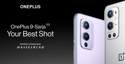 OnePlus 9:ssä ja OnePlus 9 Prossa on Hasselblad-kamera.