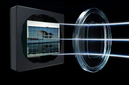 OnePlus 9 -sarjassa on poikkeuksellinen ultralaajakulmakameran linssi.
