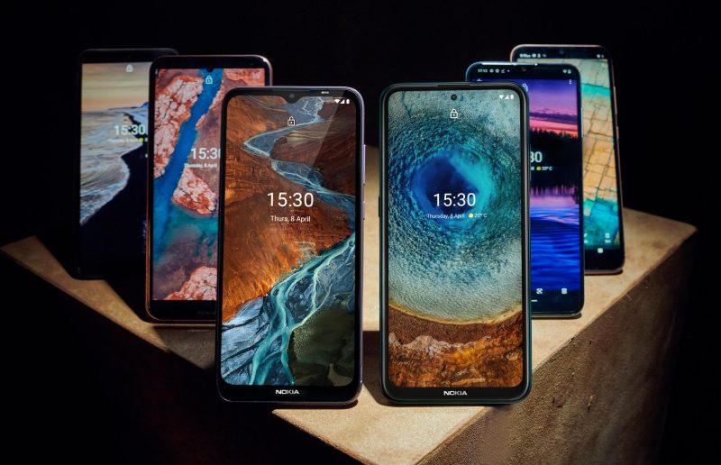 Nokia-puhelinyhtiö HMD Globalin päivän uutuudet ovat Nokia C10, C20, G10, G20 ja X10 ja X20.