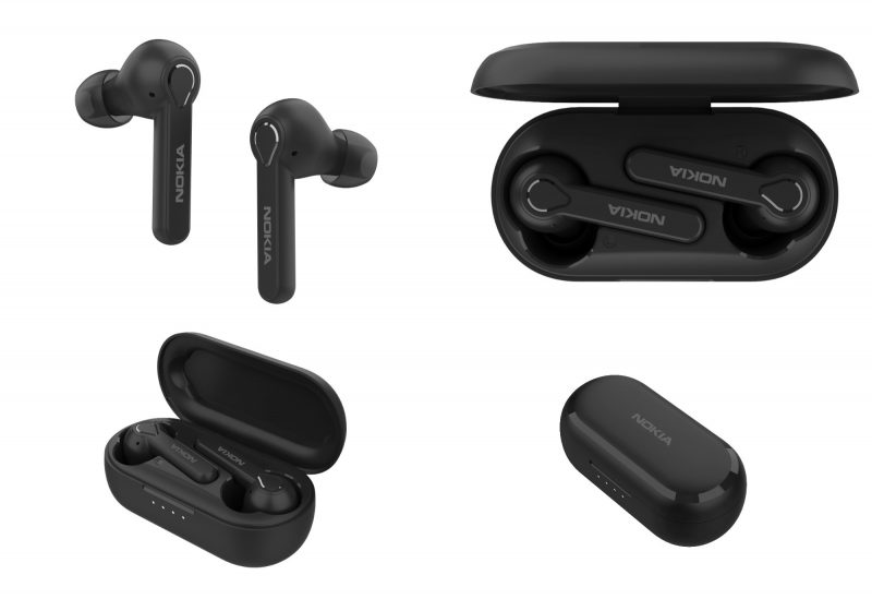Nokia Lite Earbuds, Charcoal.