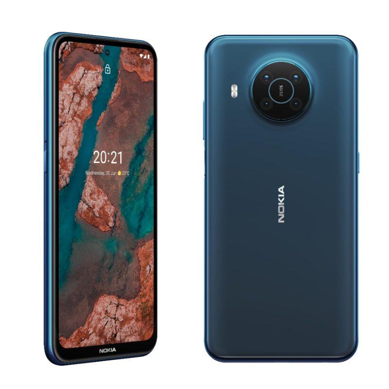 Nokia X20, Nordic Blue.
