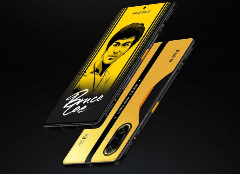 Redmi K40 Gaming Editionin Bruce Lee -erikoisversio.