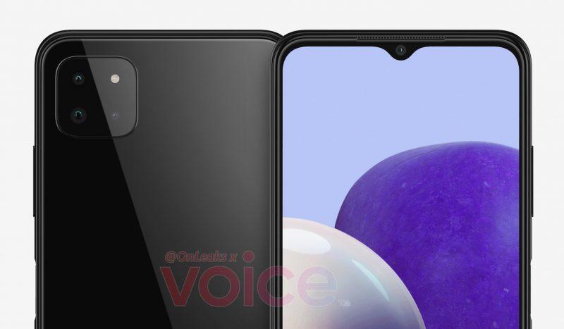 Samsung Galaxy A22 5G:n mallinnos. Kuva: Steve Hemmerstoffer / Voice.