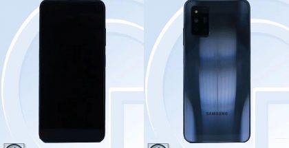Samsung Galaxy F52 5G / SM-E5260 TENAAn kuvissa.