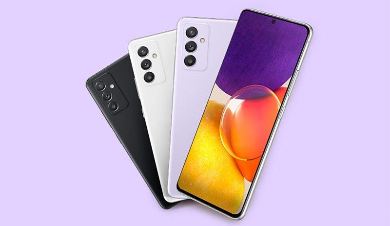 Samsung Galaxy Quantum2:n värivaihtoehdot.