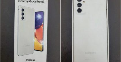 Galaxy Quantum2 Samsungin Etelä-Korean kotimarkkinoille voidaan esitellä muualla Galaxy A82 5G -mallinimellä.