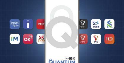 Samsung Galaxy Quantum2 toimii poikkeuksellisen turvallisesti yhteensopivien palvelujen kanssa.