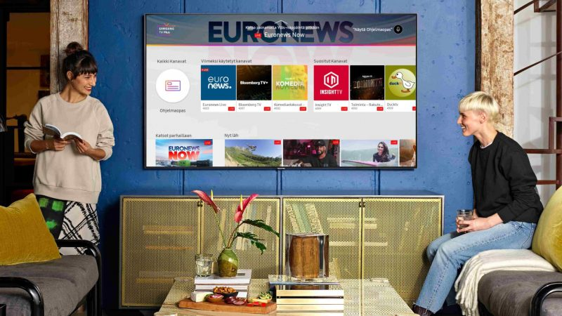 Samsung TV Plus.