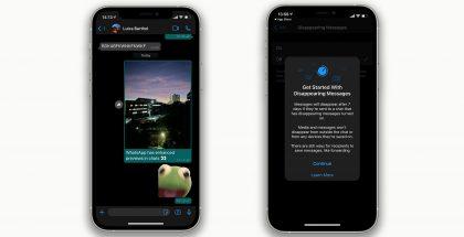 WhatsAppin iPhone-sovellus saa kaksi uudistusta.