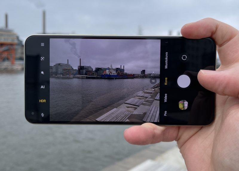 Xiaomin kamerasovellus on erittäin monipuolinen.