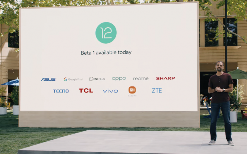 Ensimmäinen Android 12 Beta julkaistiin tänään.
