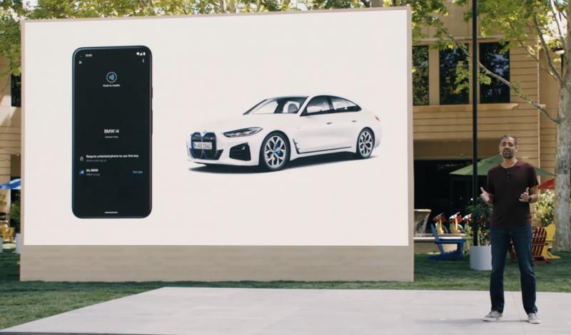 BMW on yksi ensimmäisiä kumppaneita Androidin digitaalisissa autonavaimissa.