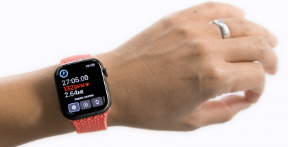 Apple Watchia voi jatkossa osittain ohjata kämmenen liikkeillä.