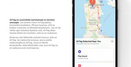 AirTagissa on yksityisyysominaisuuksia, mutta niitä pidetään riittämättöminä.