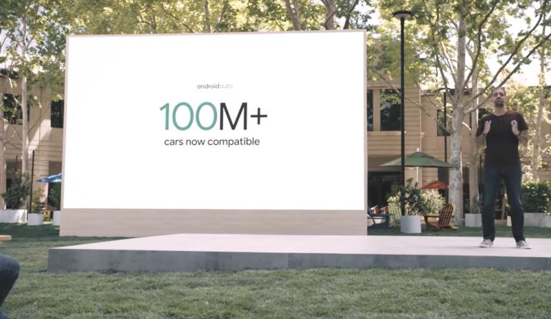 Android Auto on käytettävissä yli 100 miljoonassa autossa.