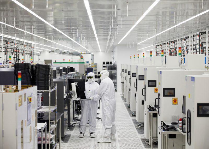 II-VIn tehdas Shermanissa, Teksasin osavaltiossa Yhdysvalloissa.