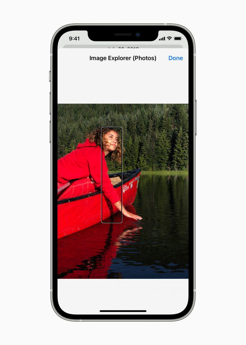 Esimerkiksi iPhone osaa jatkossa kuvailla ääneen kuvia.