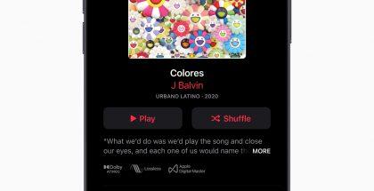 Apple Music päivittyy valinnaisilla häviöttömällä Lossless-äänenlaadulla ja Dolby Atmos -tilaäänellä.