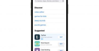 Applen App Store -sovelluskaupan Haku-näkymän Ehdotetut-osiossa näkyy jatkossa myös maksettuja mainoksia.