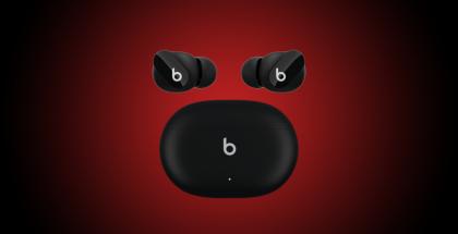 Tulevat Beats Studio Buds -kuulokkeet ja -latauskotelo. Kuva: 9to5Mac.
