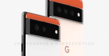 Pixel 6 ja Pixel 6 Pro. Kuva: Jon Prosser / RendersByIan.