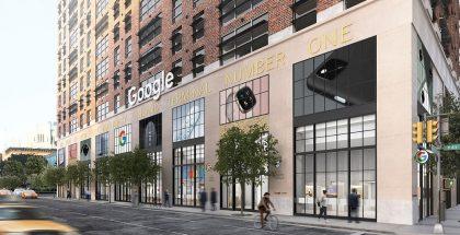Kesän aikana avattava Google Store Chelsea.