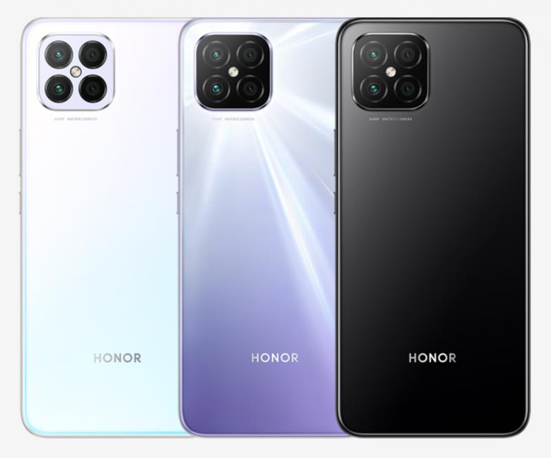 Honor Play5:n värivaihtoehdot.