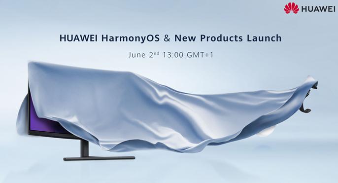 Huawein ennakkokuva 2. kesäkuuta järjestettävästä tilaisuudesta.