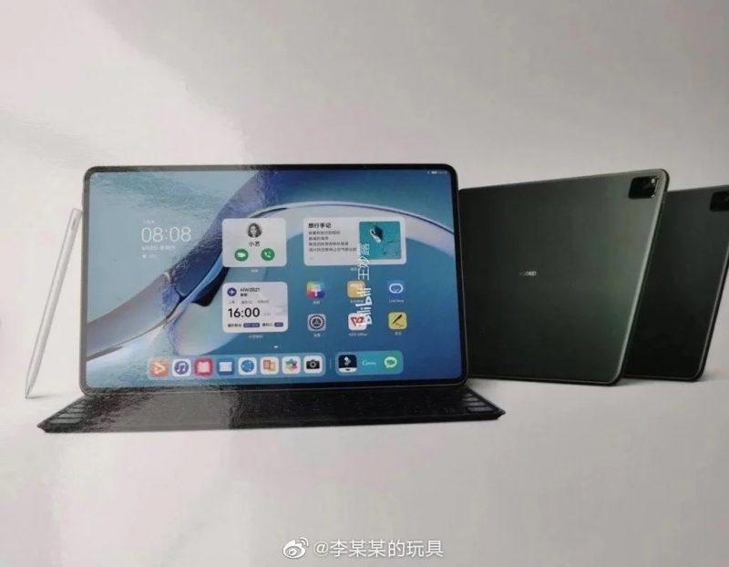 Huawei MatePad Pro 2 vuotokuvassa.