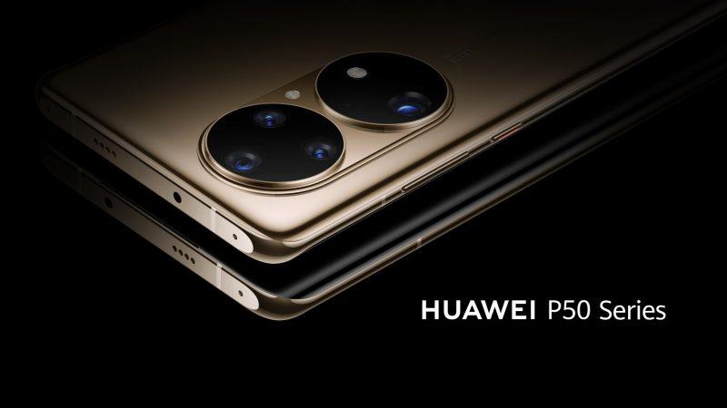 Huawei P50 Series -sarjan ennakkokuva.