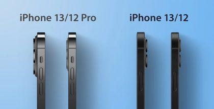 Kamera-alueet kohoaisivat takapinnasta tulevissa iPhoneissa entistä enemmän, mutta itse kameroiden linssit puolestaan suhteellisesti vähemmän. Kuva: MacRumors.