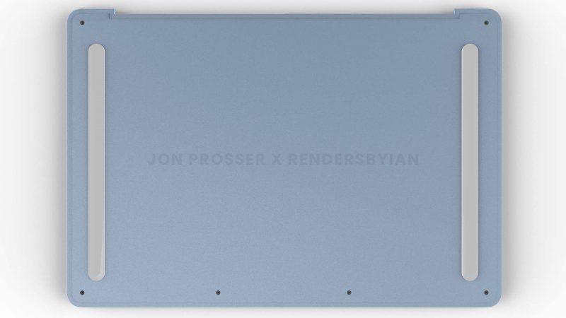 Myös pohja olisi tasainen, ja voi sisältää pitkulaiset pehmustimet. Kuva: Jon Prosser / RendersByIan.