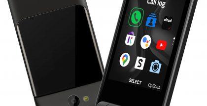 Nokia 2720 V Flipissäkin on 2,8 tuuman sisänäyttö ja 1,3 tuuman kansinäyttö.