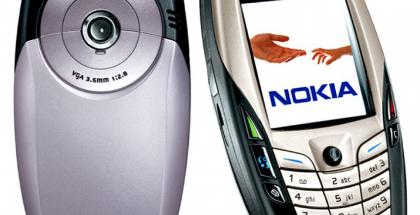 Alkuperäinen Nokia 6600.
