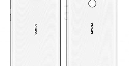 Baidun keskustelupalstalla jaettu kuva Nokia C20 Plussasta ja Nokia C30:sta.