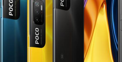 Poco M3 ProPoco M3 Pro 5G eri värivaihtoehtoina. 5G eri värivaihtoehtoina.