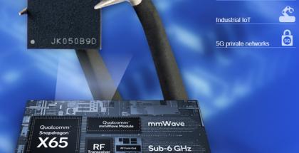 Snapdragon X65 on jo Qualcommin 4. sukupolven 5G-modeemipiiri.